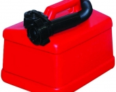 PETROL CAN RED PLASTIC 5 LITRE
