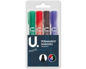 PENS MARKER PERMANENT PACK OF 4