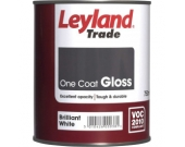 ONE COAT GLOSS BRILL WHITE 750ML