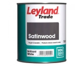 SATINWOOD BRILLIANT  WHITE 750ML
