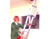 LOFT LADDER ALUMINIUM 2 SECTION