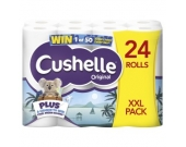 TOILET ROLL CUSHELLE PK24 WHITE