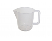 JUG 2 PT MEASURE PLASTIC NATURAL