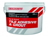 TILE ADHESIVE FIX&GROUT STD S/CRE