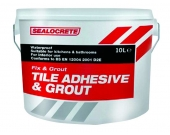 TILE ADHESIVE FIX&GROUT LGE S/CRE