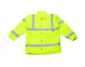 JACKET HI VIZ TRAFFIC YELLOW LGE