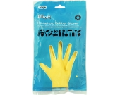 RUBBER GLOVES YELLOW LARGE