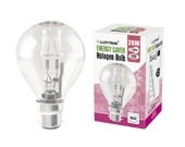 BULB GOLF BALL HALOGEN SBC 28=37W
