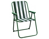 CHAIR CONTRACT FOLDING STRIPED